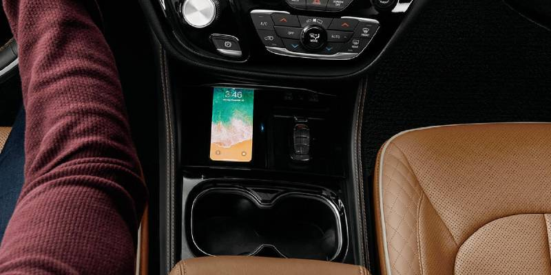 2021 Chrysler Pacifica Hybrid Wireless Phone Charger